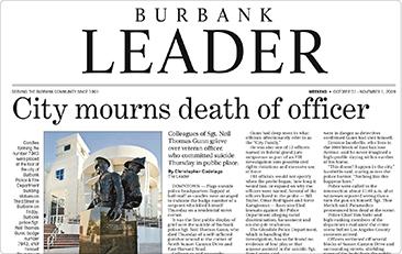 Press-and-Reviews Burbank Leader