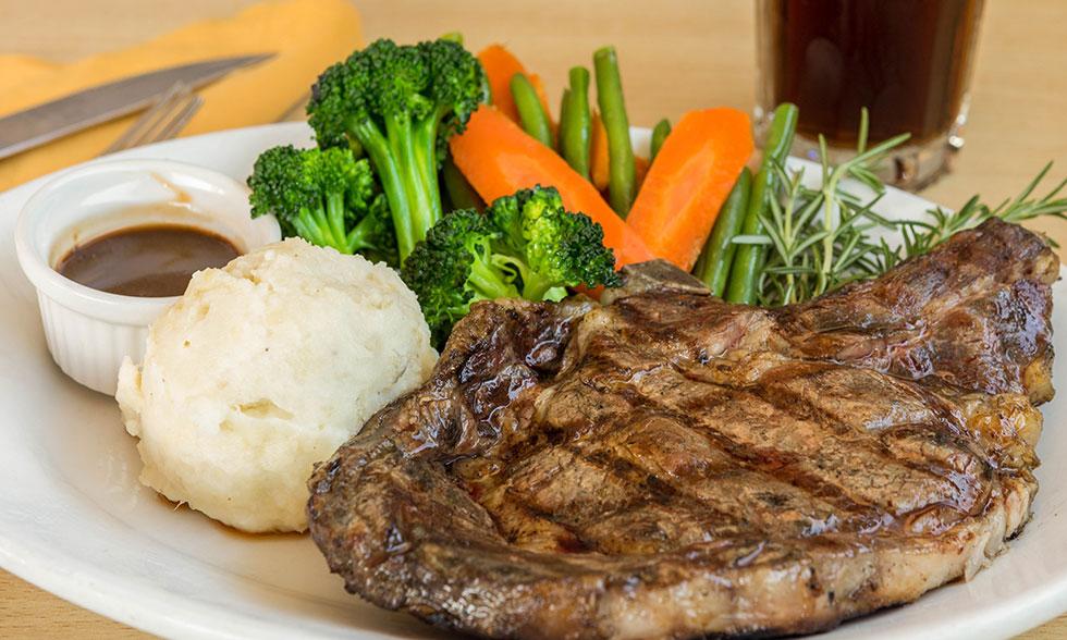 Olives Bistro Rib Eye Steak
